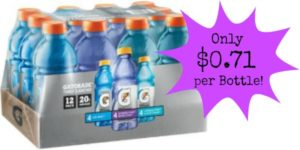 Gatorade Frost 12-Pack Only $8.54!