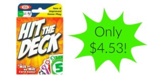Hit the Deck Card Game Only $4.53!