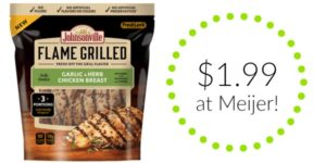 Meijer: Johnsonville Flame Grilled Chicken Breast Only $1.99!