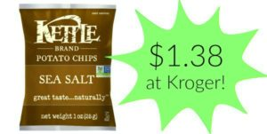 Kroger: Kettle Brand Chips Only $1.38!