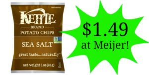 Meijer: Kettle Brand Potato Chips Only $1.49!