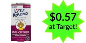 Target: Little Remedies for Noses Only $0.57!