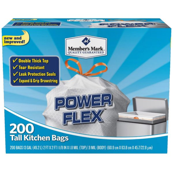 Sam S Club Tall Kitchen Garbage Bags