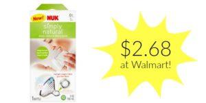 Walmart: NUK Simply Natural Bottle Only $2.68! (reg. $5.85)