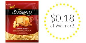 Walmart: Sargento Snack Bites Only $0.18!