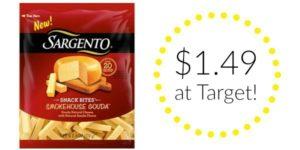 Target: Sargento Snack Bites Only $1.49!