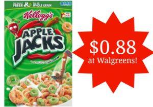 Walgreens: Apple Jacks Cereal Only $0.88!