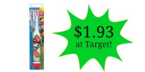Target: Arm & Hammer Kids Spinbrush Only $1.93!