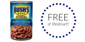 FREE Bush's Best Canned Beans at Walmart!