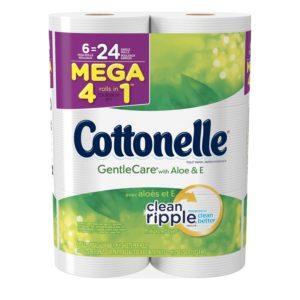 Kroger: Cottonelle CleanCare Toilet Paper Only $0.16 per Regular Roll!