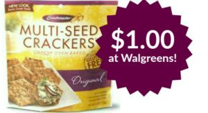 Walgreens: Crunchmaster Crackers Only $1.00!