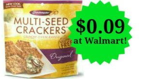 Walmart: Crunchmaster Crackers Only $0.09!
