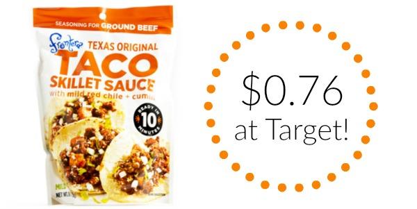 Target: Frontera Seasoning Sauces Only $0.76!
