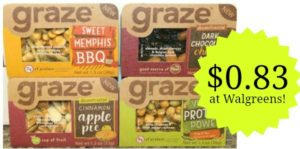 Walgreens: Graze Snacks Only $0.83!