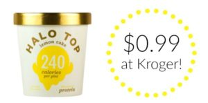 Kroger: Halo Top Ice Cream Pint Only $0.99!