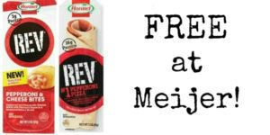 FREE Hormel Rev Products at Meijer!