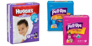 Walgreens: Huggies Diapers Only $3.80!