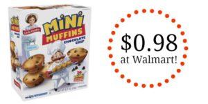 Walmart: Little Debbie Mini Muffins as low as $0.98!