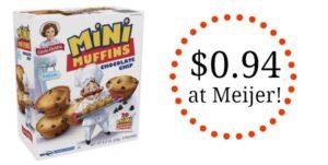 Meijer: Little Debbie Mini Muffins as low as $0.94!