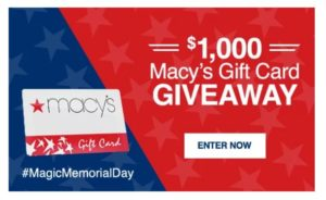 #MagicMemorialDay Giveaway – Enter to Win a $50 Macy's Gift Card!