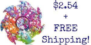 HOT Pinwheel Fidget Spinner Deal – $2.54 + FREE Shipping!
