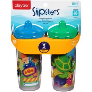 Walmart: Playtex Sipsters Sippy Cups 2pk Only $2.59!