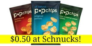 Schnucks: Pop Chips Only $0.50!