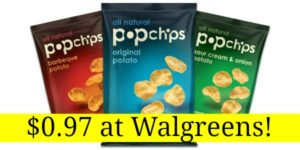 Walgreens: Pop Chips Only $0.97!