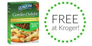 FREE Ronzoni Pasta at Kroger!