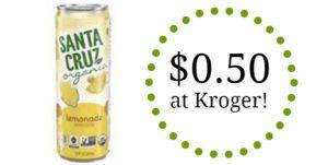 Kroger: Santa Cruz Organic Lemonade Only $0.50!