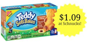 Schnucks: Nabisco Teddy Soft Bakes Only $1.09!