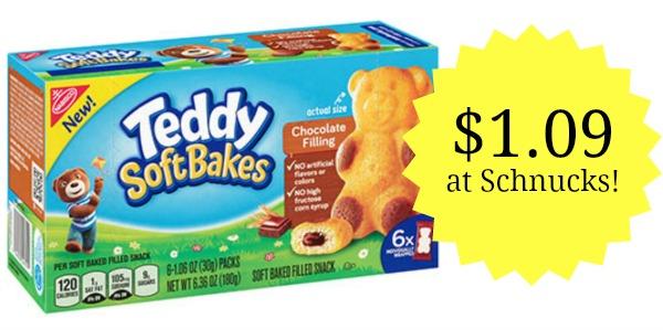 Schnucks: Nabisco Teddy Soft Bakes Only $1.09!