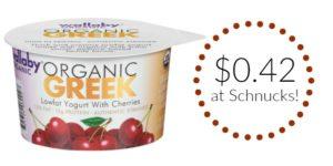 Schnucks: Wallaby Organic Greek Yogurt Only $0.42!