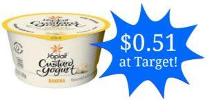 Target: Yoplait Custard Yogurt Only $0.51!