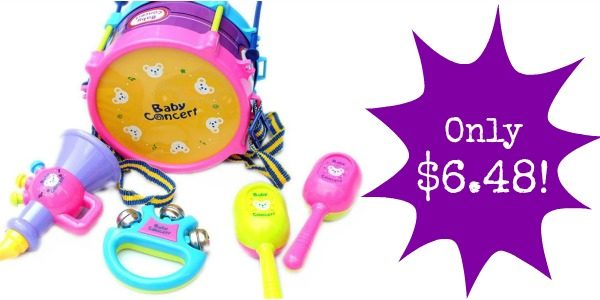 5-Piece Baby Musical Instruments Kit