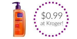 Kroger: Clean & Clean Skin Care Products as low as $0.99!