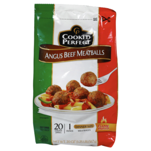 Meijer: Cooked Perfect Meatballs Only $2.49! (reg. $7.99)