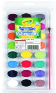 **HOT** Crayola Washable Watercolors 24-Count Only $1.99 (Reg. $6.08)!