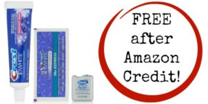 FREE Crest 3D White 1 Hour Express Whitestrip Sample Kit after Amazon Credit!