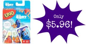 Finding Dory Uno Game Only $5.96!