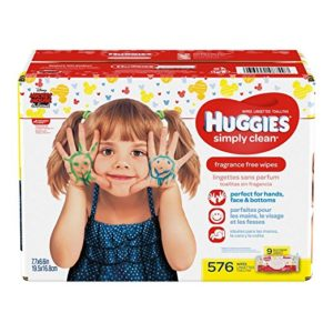 Huggies Simply Clean Baby Wipes Only 1.8¢ per Wipe Shipped!
