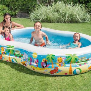 Intex Swim Center Paradise Inflatable Pool Only $25.99!