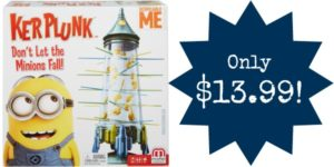 Despicable Me Minions Kerplunk Game Only $13.99!
