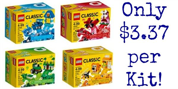 LEGO Classic Quad Pack Building Kit