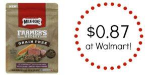 Walmart: Milk-Bone Farmers Medley Dog Treats Only $0.87!