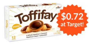 Target: Toffifay Candy Only $0.72! (reg. $2.29)