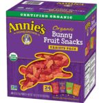 Pack of 24 Annie's Organic Bunny Fruit Snacks as low as $5.52!