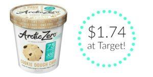 Target: Arctic Zero Ice Cream Only $1.74!