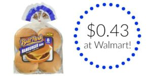 Walmart: Ball Park Buns Only $0.43!