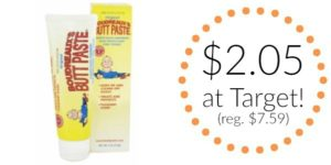 Target: Boudreaux's Butt Paste Only $2.05! (reg. $7.59)